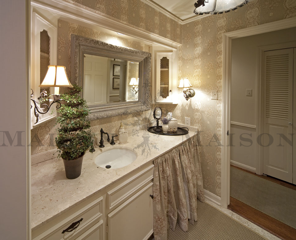 Interior Design Houston Maison Maison Antiques Bathroom | Maison ...